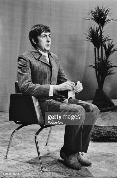 English comedian Eric Idle performs a sketch on the Associated-Rediffusion television series Do Not Adjust Your Set in England in February 1968. Eric...