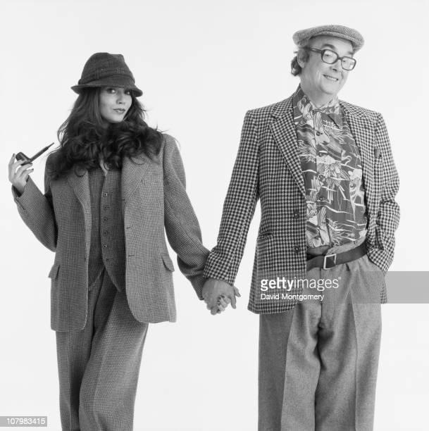 English comedian Eric Morecambe 8th February 1982