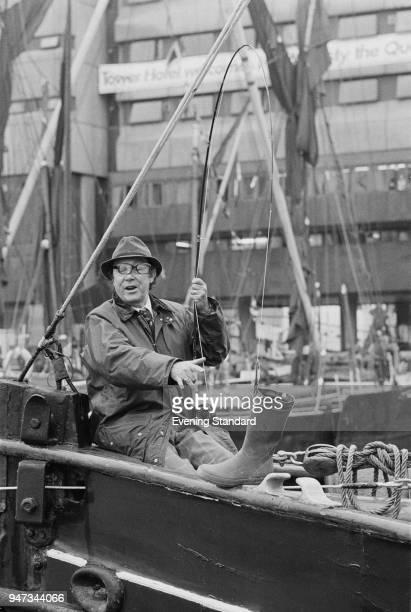 English comedian Eric Morecambe London UK 15th June 1977