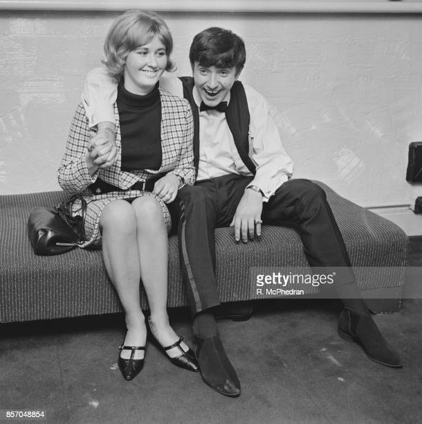 English comedian Jimmy Tarbuck and his wife Pauline UK 27th September 1965