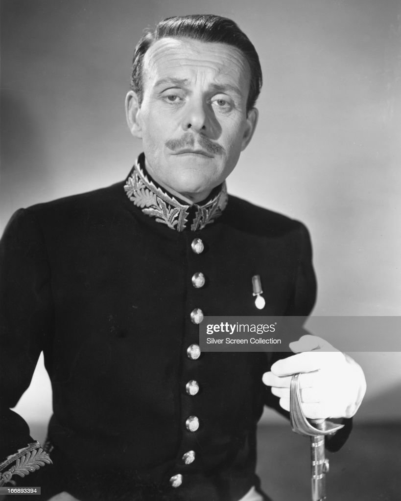 English comic actor Terry-Thomas (1911 - 1990) in a promotional portrait for 'Carlton-Browne of the F.O.', directed by Roy Boulting and Jeffrey Dell, 1959. Terry-Thomas plays Cadogen De Vere Carlton-Browne in the Boulting Brothers' comedy.