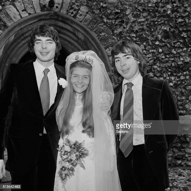 English composer and impresario of musical theatre Andrew Lloyd Webber accompanies his brother solo cellist and conductor Julian Lloyd Webber on his...