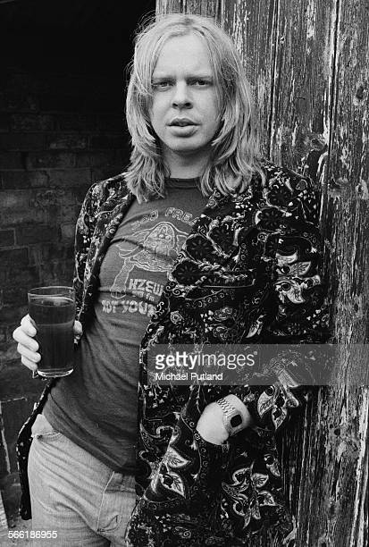 English composer and keyboard player Rick Wakeman 20th August 1975