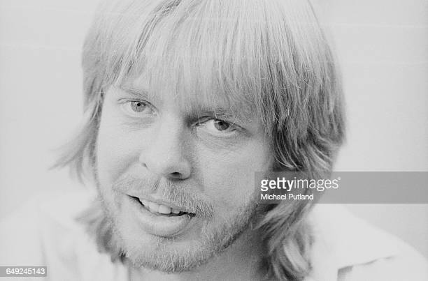 English composer and keyboard player Rick Wakeman August 1980