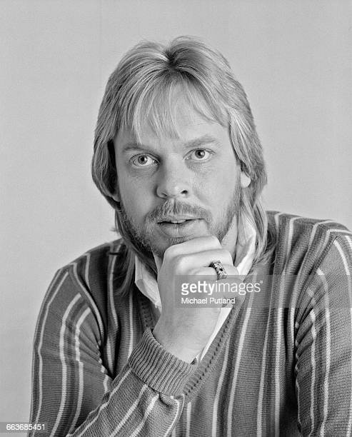 English composer and keyboard player Rick Wakeman March 1983