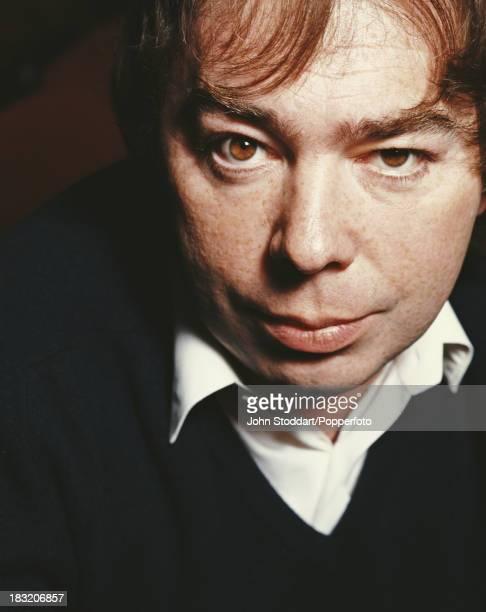 English composer Andrew Lloyd Webber London 1989