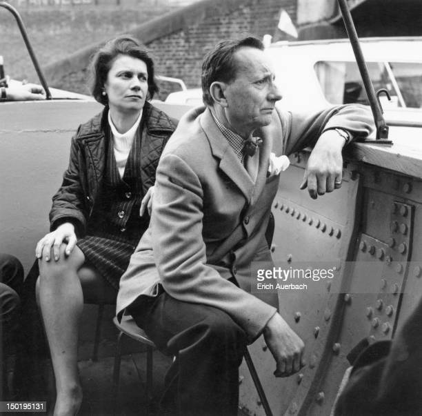 English composer Lennox Berkeley with his wife Freda London 24th April 1967