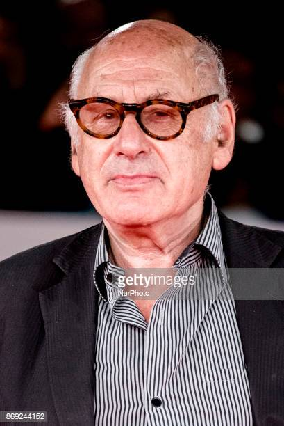 English composer Michael Nyman attends red carpet at Rome Film Festival Italy 01 Nov 2017