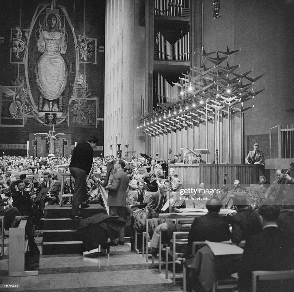 Requiem At Coventry : News Photo