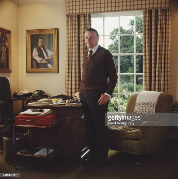 English Conservative party politician and cabinet minister Francis Pym the Secretary of State for Defence 1980