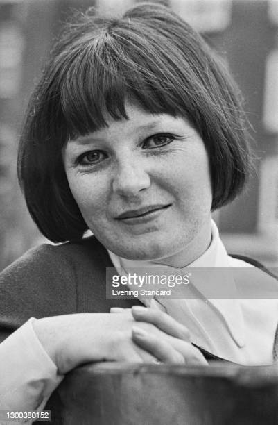 English cook and cookery writer Delia Smith, UK, 6th May 1972.