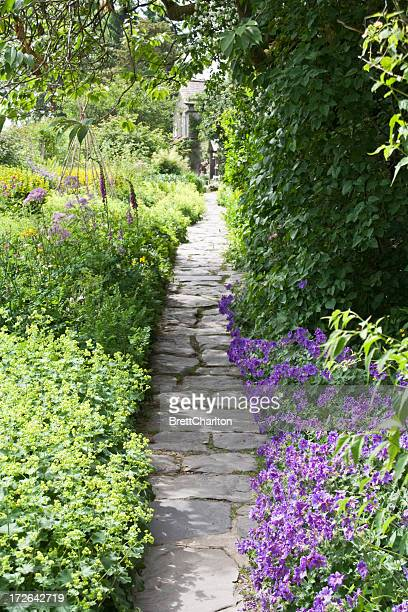 Garden Path Stock Photos And Pictures