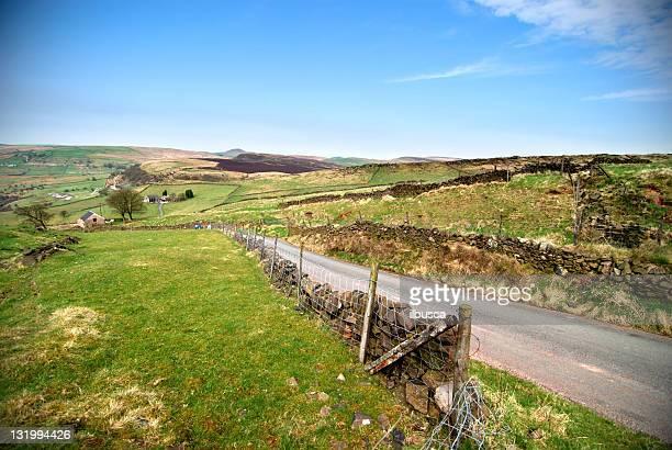 English countryside peak district