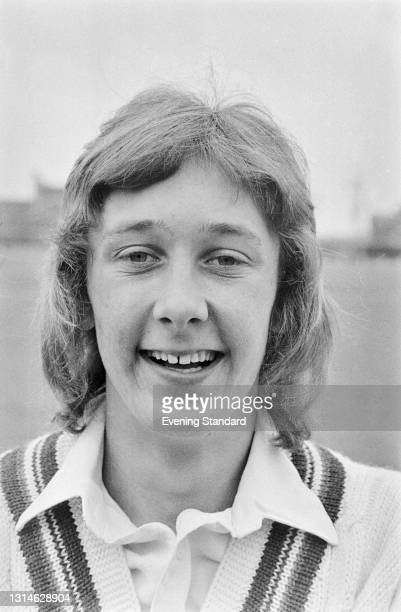 English cricketer Andrew Brassington of Gloucestershire County Cricket Club, UK, 29th April 1974.