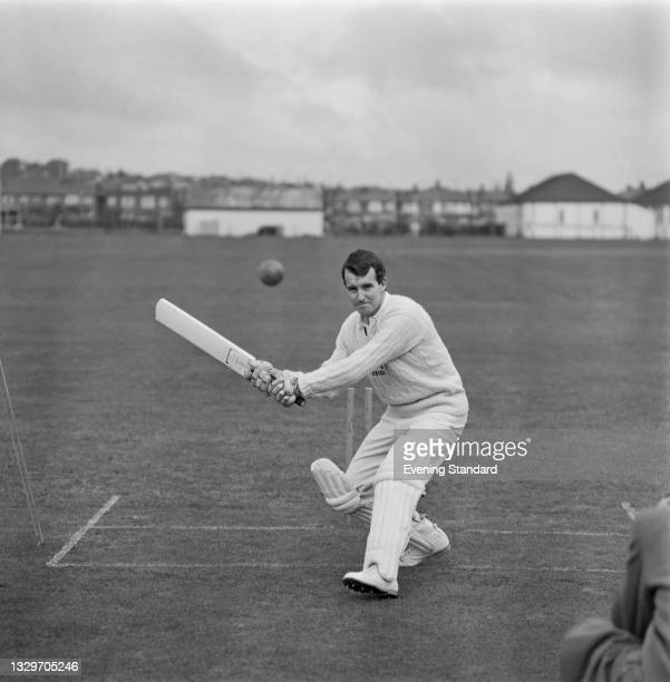 English cricketer Barry Knight of Essex County Cricket Club, UK, 29th April 1965.
