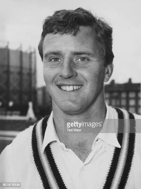 English cricketer Bill Blenkiron a righthanded batsman and rightarm fast medium bowler for Warwickshire June 1968