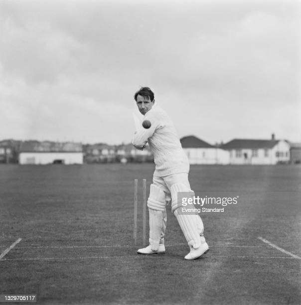 English cricketer Gordon Barker of Essex County Cricket Club, UK, 29th April 1965.