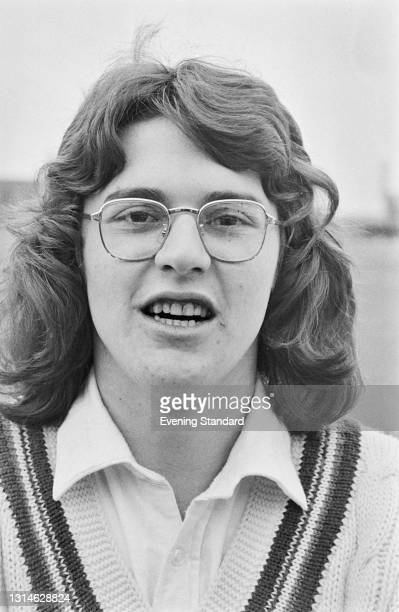 English cricketer Jim Foat of Gloucestershire County Cricket Club, UK, 29th April 1974.