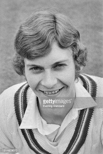 English cricketer Julian Shackleton of Gloucestershire County Cricket Club, UK, 29th April 1974.