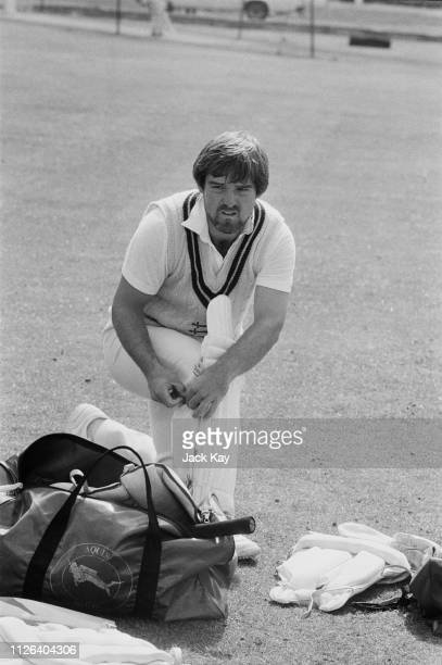 English cricketer Mike Gatting captain of Middlesex County Cricket Club UK 19th April 1984