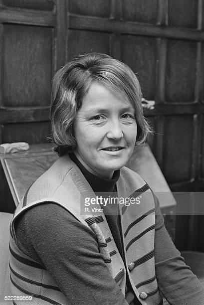English cricketer Rachael Heyhoe Flint 2nd February 1972