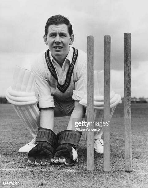 English cricketer Rodney Cass a former Yorkshire Colt joins the Essex County Cricket Club as a reserve wicket keeper 13th April 1964 Here he...