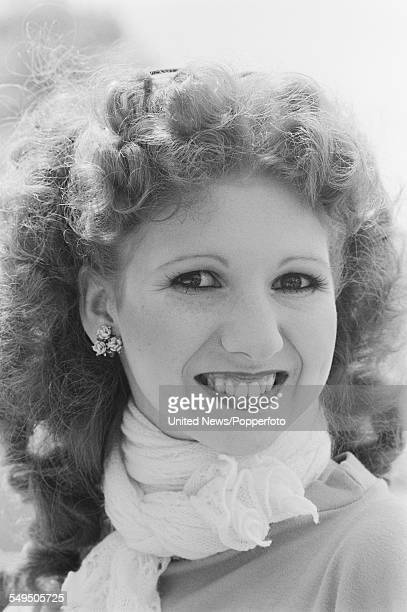 English dancer and actress Bonnie Langford who hosts the television series 'Hot Shoe Show' pictured in London in May 1983