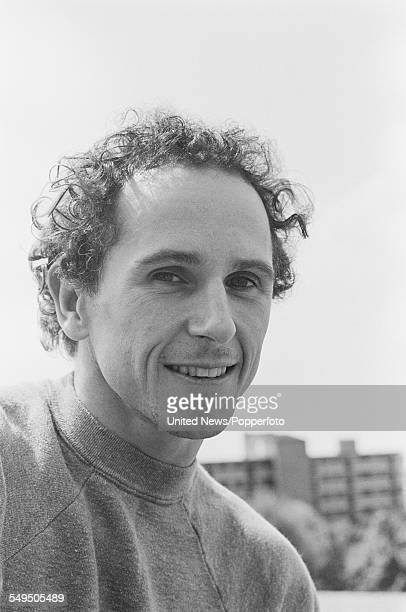 English dancer and choreographer Wayne Sleep who hosts the television series 'Hot Shoe Show' pictured in London in May 1983
