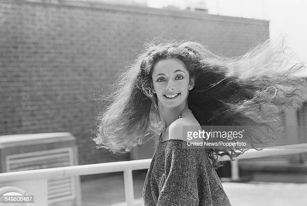 English dancer and member of the dance groups Pan's People and Ruby Flipper Cherry Gillespie pictured in London in May 1983