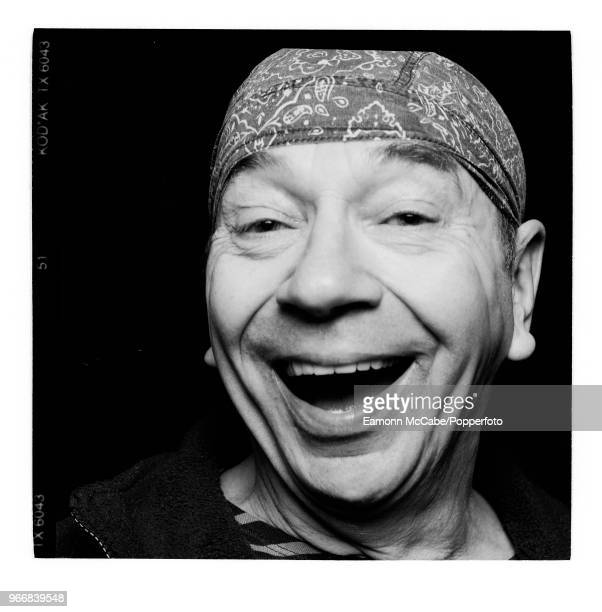 English dancer mime artist and choreographer Lindsay Kemp portrait circa 2000