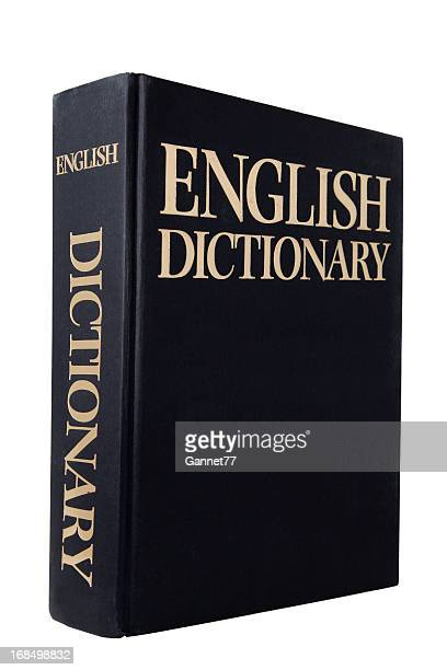 english dictionary - dictionary stock pictures, royalty-free photos & images