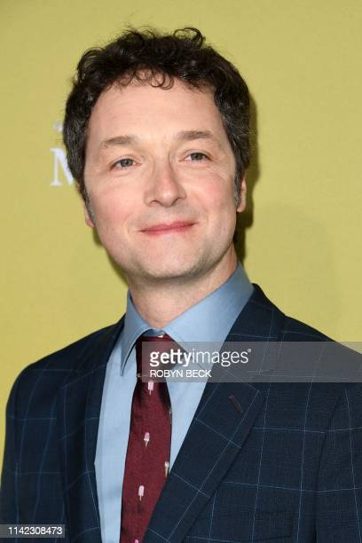English director and actor Chris Addison arrives to the premiere of The Hustle at the Arclight Cinerama Dome in Hollywood California on May 8 2019