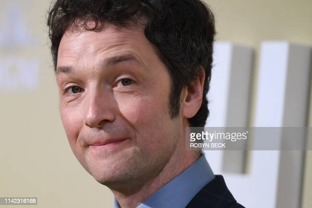 English director and actor Chris Addison attend the premiere of The Hustle at the Arclight Cinerama Dome in Hollywood California on May 8 2019
