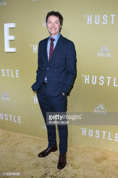 English director and actor Chris Addison attends the premiere of The Hustle at the Arclight Cinerama Dome in Hollywood California on May 8 2019