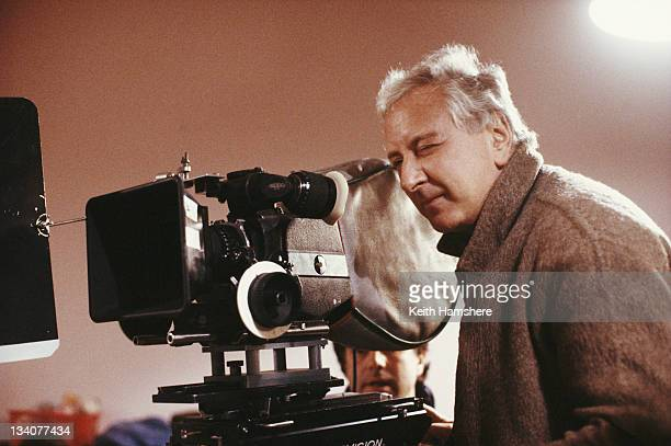 English director Michael Winner during the making of the film 'A Chorus of Disapproval' 1989