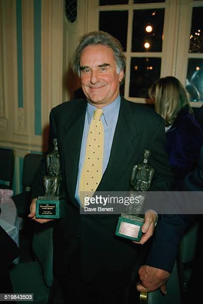 English director Richard Eyre at the Evening Standard Theatre Awards, held at the Savoy Hotel, London, 28th November 1997. Eyre won two awards, for...