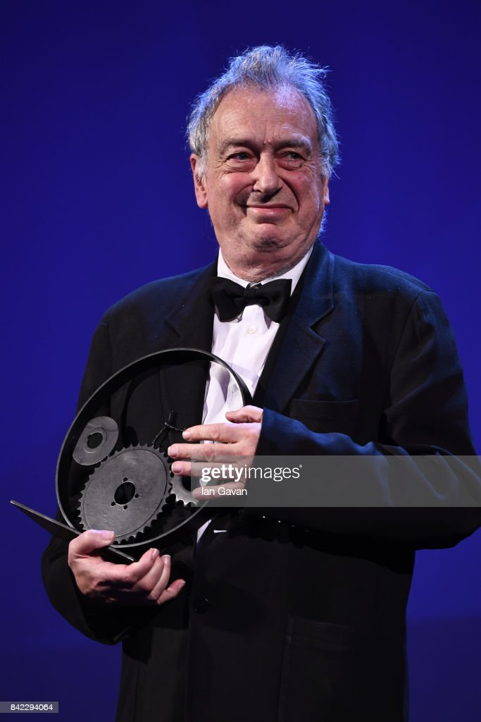 English Director Stephen Frears receives The Jaeger-LeCoultre Glory To The Filmmaker Award during the 74th Venice International Film Festival at Sala Grande on September 3, 2017 in Venice, Italy.