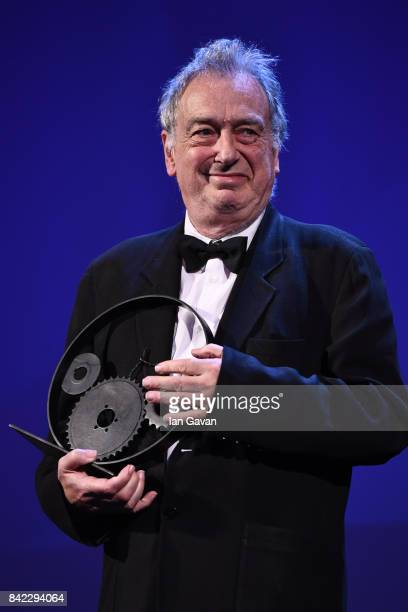 English Director Stephen Frears receives The Jaeger-LeCoultre Glory To The Filmmaker Award during the 74th Venice International Film Festival at Sala...