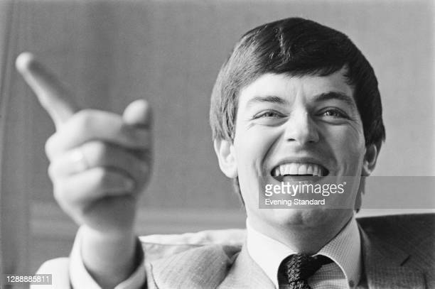 English disc jockey and singer Tony Blackburn, UK, 6th April 1968.