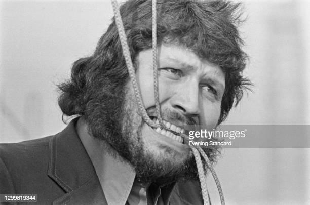 English disc jockey and television presenter Dave Lee Travis, UK, 10th April 1972.