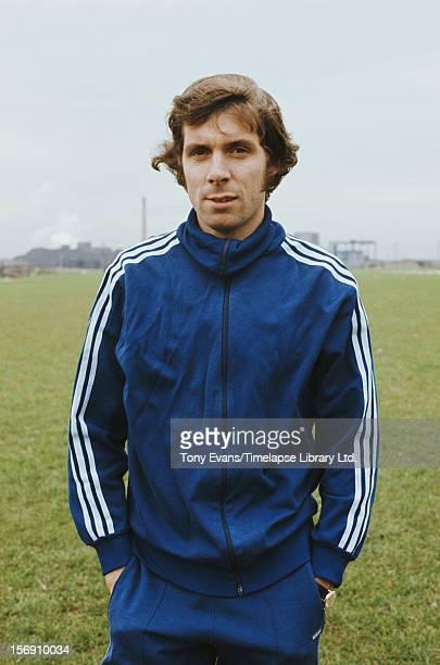 English distance runner Brendan Foster circa 1975