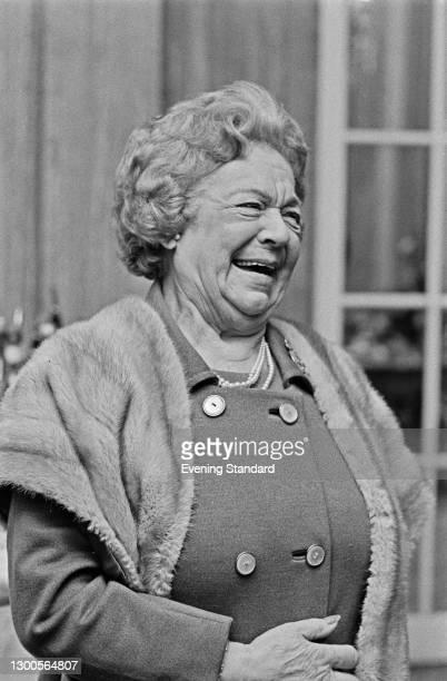 English dramatic soprano Dame Eva Turner , UK, 15th March 1973.