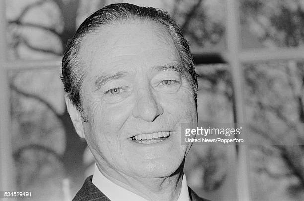 English dramatist and playwright, Terence Rattigan pictured on 12th February 1976.