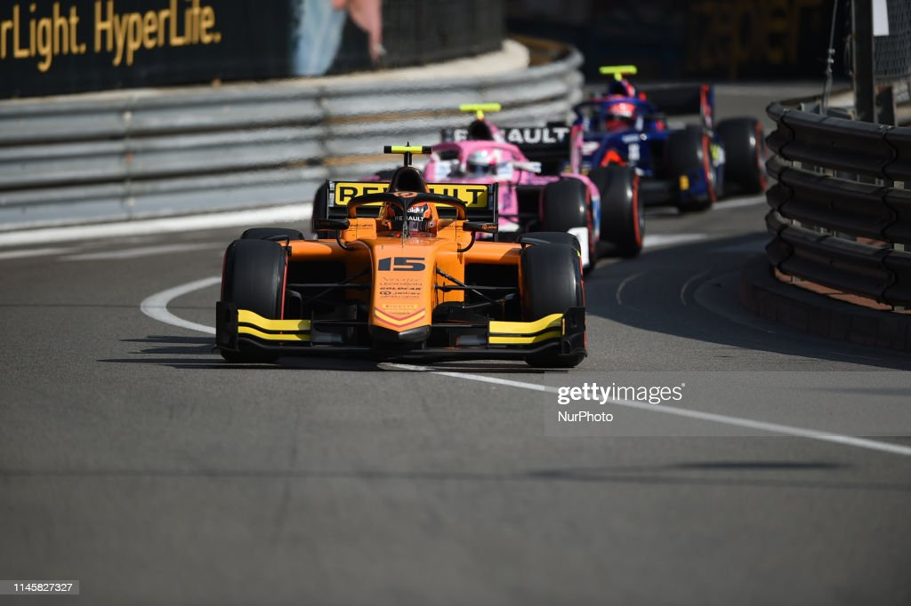 F2 Monaco GP - Race 1 : ニュース写真