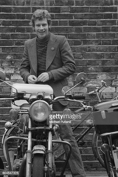 English drummer Bill Bruford of progressive rock groups Yes King Crimson and Genesis 11th March 1976