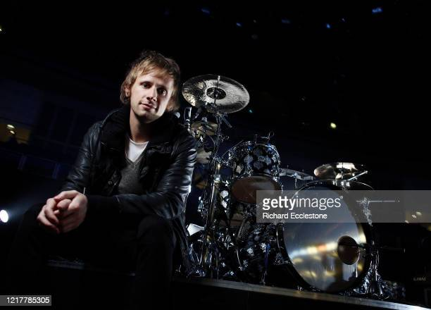 English drummer Dominic Howard of the rock band Muse, United Kingdom, 2009.