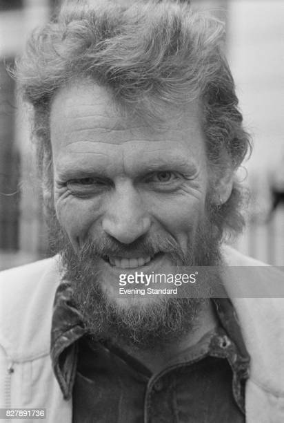 English drummer Ginger Baker in London, a few days after the release of 'Elysian Encounter', Baker Gurvitz Army's second studio album, 7th January...