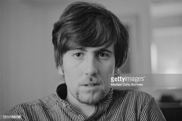 English drummer Graham Nash of pop group The Hollies circa 1966
