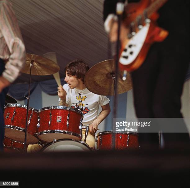 FESTIVAL Photo of The Who and Keith MOON with The Who performing live onstage