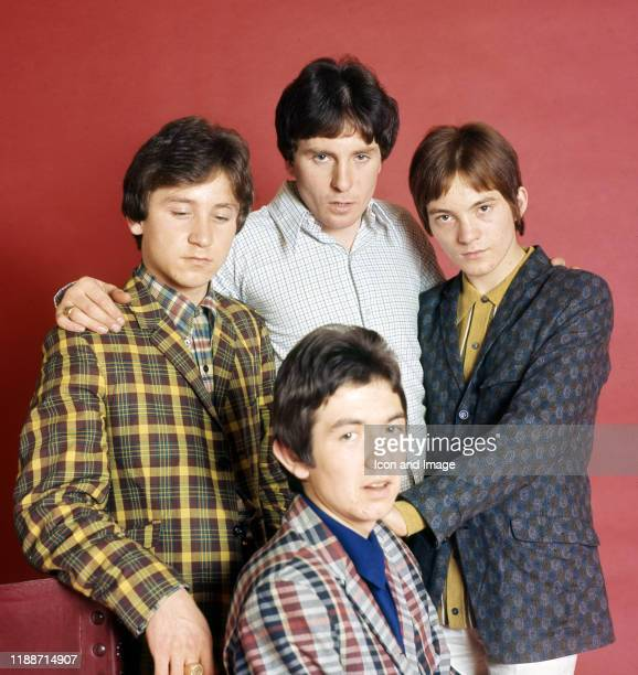 English drummer Kenney Jones, English musician and actor Jimmy Winston, English musician, songwriter and frontman Steve Marriott , and English...